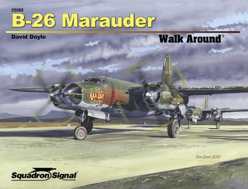 Used, B-26 Marauder Walk Around for sale  Delivered anywhere in USA