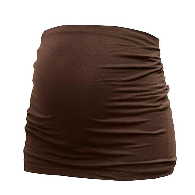 Republe Las mujeres embarazadas atención prenatal correa de algodón Bellyband maternidad cinturón de tonificación trasera de