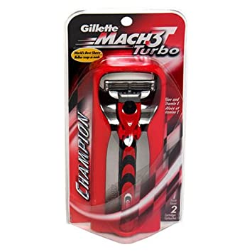 Gillette MACH3 Turbo Champion