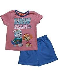 Paw Patrol Best Pups Girls Short Sleeve Pyjama Set By BestTrend