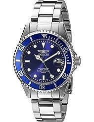 Invicta Mens 9204OB Pro Diver Analog Display Quartz Silver Watch