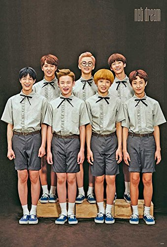 Nct Dream Kpop Korean Boy Band Music Poster J-0039