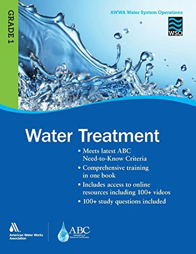 Pdf Transportation Water Treatment Grade 1 WSO: AWWA Water System Operations WSO