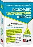 capa de Dicionário Universitário Jurídico Torrieri