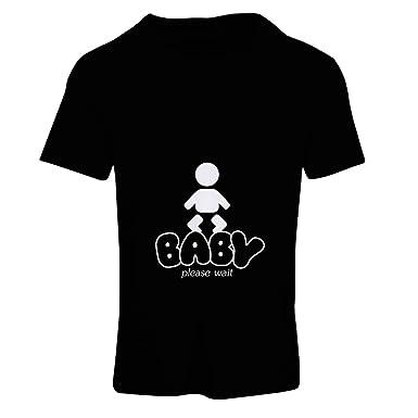 37e7c2d8cabac T Shirts for Women Baby Loading - Funny Maternity Shirts with Sayings:  Amazon.co.uk: Clothing