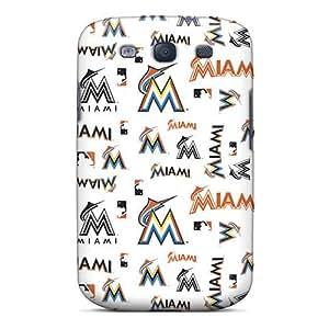 New Arrival Miami Marlins XVd1513zyJU Case Cover/ S3 Galaxy Case