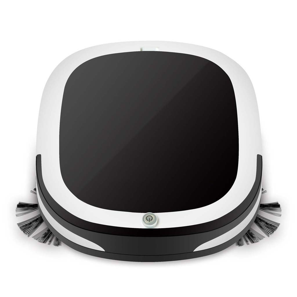 J&A Aspirador robótico Delgado Mini, Robot Inteligente de la ...