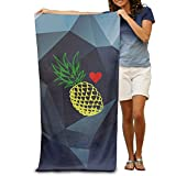 GHEDPO Cool Love Pineapple Be A Pineapple Swim Towel