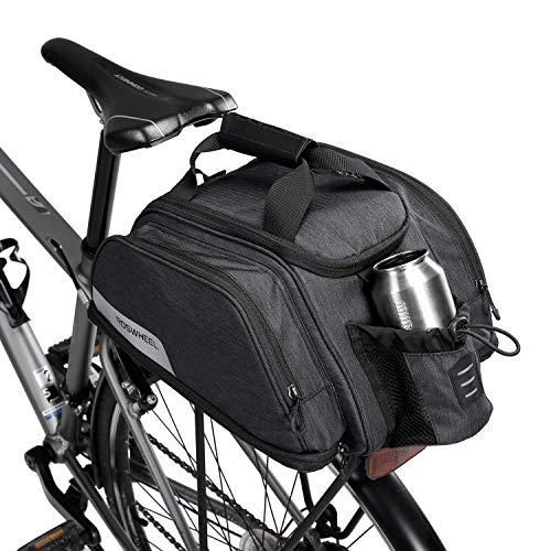 ArcEnCiel Bike Trunk Bag Pannier with Extended Room