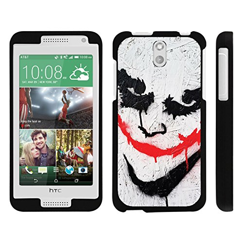 HTC Desire 610 Phone Case, Perfect Fit Snap on Cell Phone Case Superhero Design Series for HTC Desire 610 and 612 by Miniturtle® - Joker - Htc Desire 610 Super Hero Case