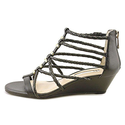 INC International Concepts Womens Makera Open Toe Casual, Black, Size 8.5 from INC International Concepts