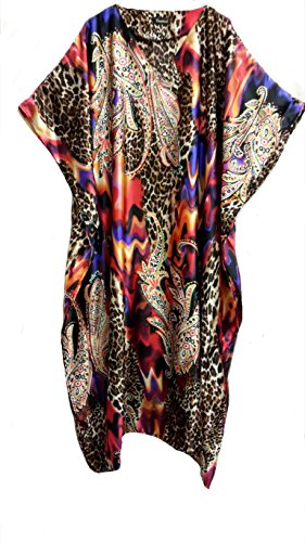 Fionalissa - Chemise de nuit spécial grossesse - Femme Marron Multicolore