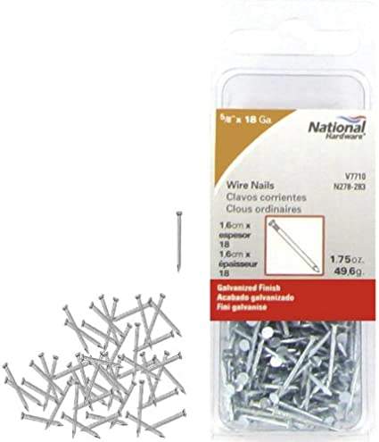 Details about  /National Nail HandDrive Roofing Nails Hot Dipped Galvanized Smooth All Lengths