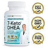 Dr. Dzugan's ADVANCED 7-Keto DHEA Formula :: Non-GMO, Gluten Free, GMP Certified! :: 25mg 90 Softgels :: Energy, Metabolism