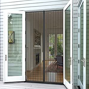... Screen Doors & Planet Homeware Full Frame Heavy Duty Velcro Mesh Magnetic Screen ...