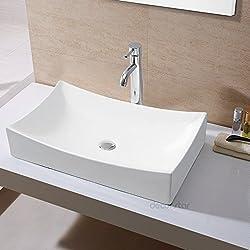 Decor Star CB-001 Bathroom Porcelain Ceramic Vessel Vanity Sink Art Basin