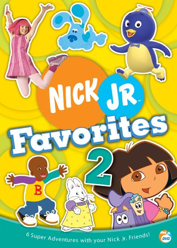 Nick Jr. Favorites - Vol. 2 (Lazytown Nick Jr)