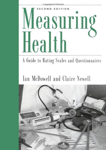Measuring Healthiness: A Guide to Rating Scales and Questionnaires