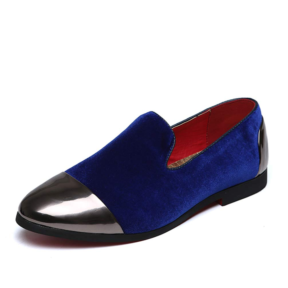 Mens Formal Shoes Pointed Toe Slip-On Fashion Casual Flats Dress Shoes Big Size by Phil Betty (Image #1)