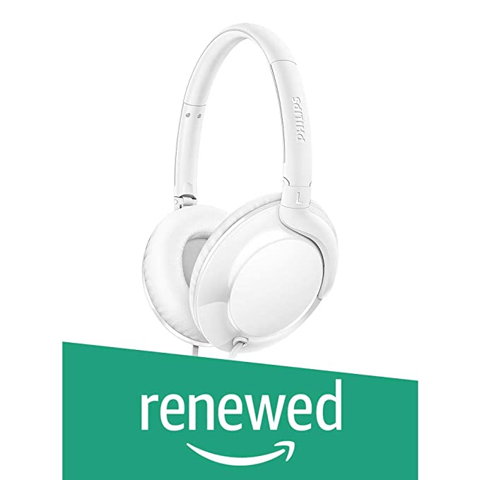 Renewed  Philips SHL4600WT/00 Headphones  White  Headphone Accessories