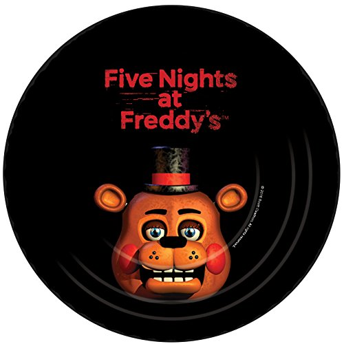 [Five Nights at Freddy's Dessert Plates (8)] (Foxy Five Nights At Freddys Costume)