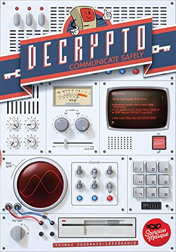Decrypto Board Game (Game Sheets Between The)
