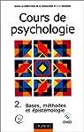 Cours de psychologie par Ghiglione