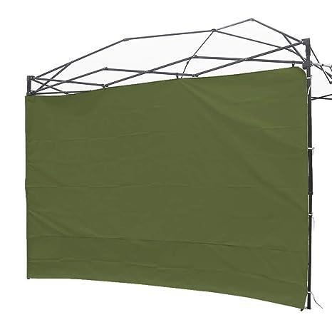 NINAT Paredes Lateral de Privacidad para 3M Gazebos Carpa Parasol Pabellón Impermeable (Marco de Toldo no Incluido) 1 Pared del Panel (Grass - Verde ...