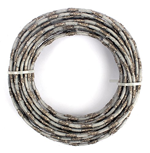 Diamond Wire Saw Mining Rope Saw 4mm Super Thin for Cutting Granite Marble Jade Concrete Stone-10 Meters/Lot