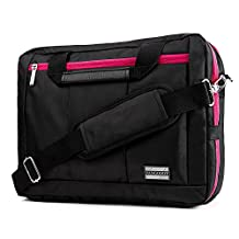 2 in 1 Messenger Shoulder Bag Backpack for Samsung Chromebook / Samsung Galaxy TabPro S 12-inch / Samsung Note 7 Spin 13.3 Inch Laptop PC Tablet Plus Convertible Touch Laptop