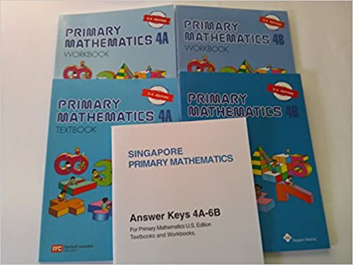 Singapore Primary Mathematics Level 4 KIT + Answer Booklet (US ...