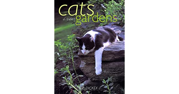 Cats in Their Gardens: Amazon com