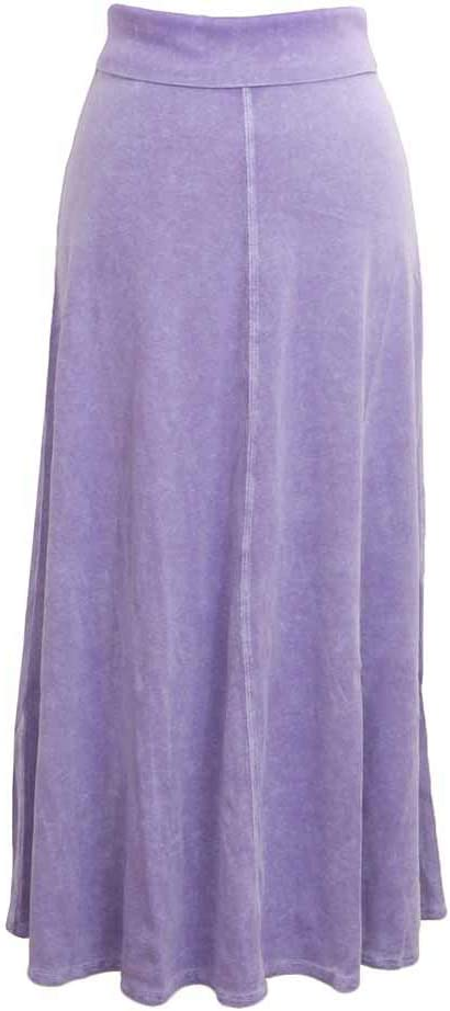 Hard Tail Forever A-Line Cotton Skirt with Rolldown Waistband Style B-131