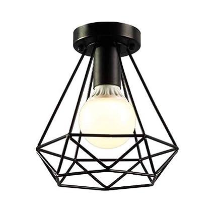 Vampsky Industrial Retro Hierro Luces de techo Lámparas de ...