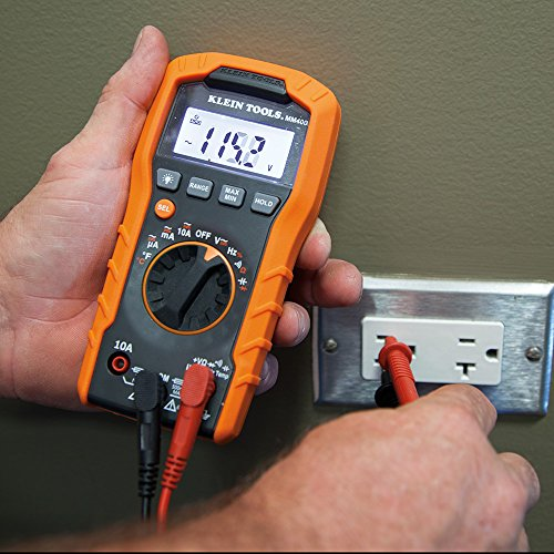 Auto Ranging Digital Multimeter mm400