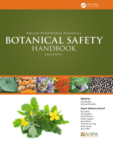 American Herbal Products Associations Botanical Safety Handbook