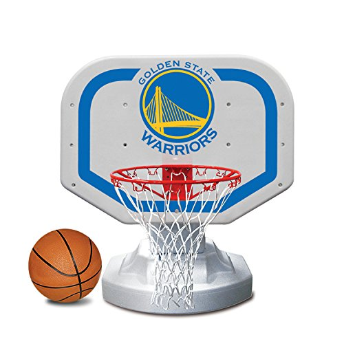 - Poolmaster 72909 Golden State Warriors NBA USA Competition-Style Poolside Basketball Game