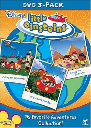 Disney Little Einsteins Fall 2008 DVD 3-Pack: My Favorite Adventures Collection ()