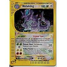 Pokemon Aquapolis Ultra Rare Secret Holofoil Card #150/147. Nidoking