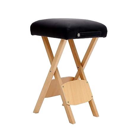 WYYY silla de Oficina Taburete De Masaje Patas De Madera ...