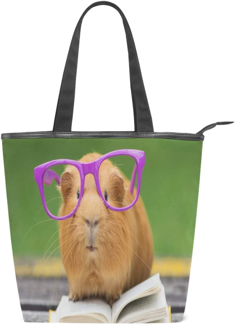 Pig with Glasses Gym Bag