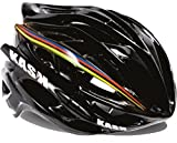 Kask Mojito Road Cycling Helmet (White with Rainbow stripe - L)