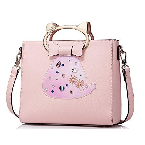 Sauvage Mignon Chat Pink à à 11 LQQAZY 5cm Petit Fête Sac Messager 5 Sac De De Sac Main Sac 2018 25 Marée Main Nouveau 23 SOYXO