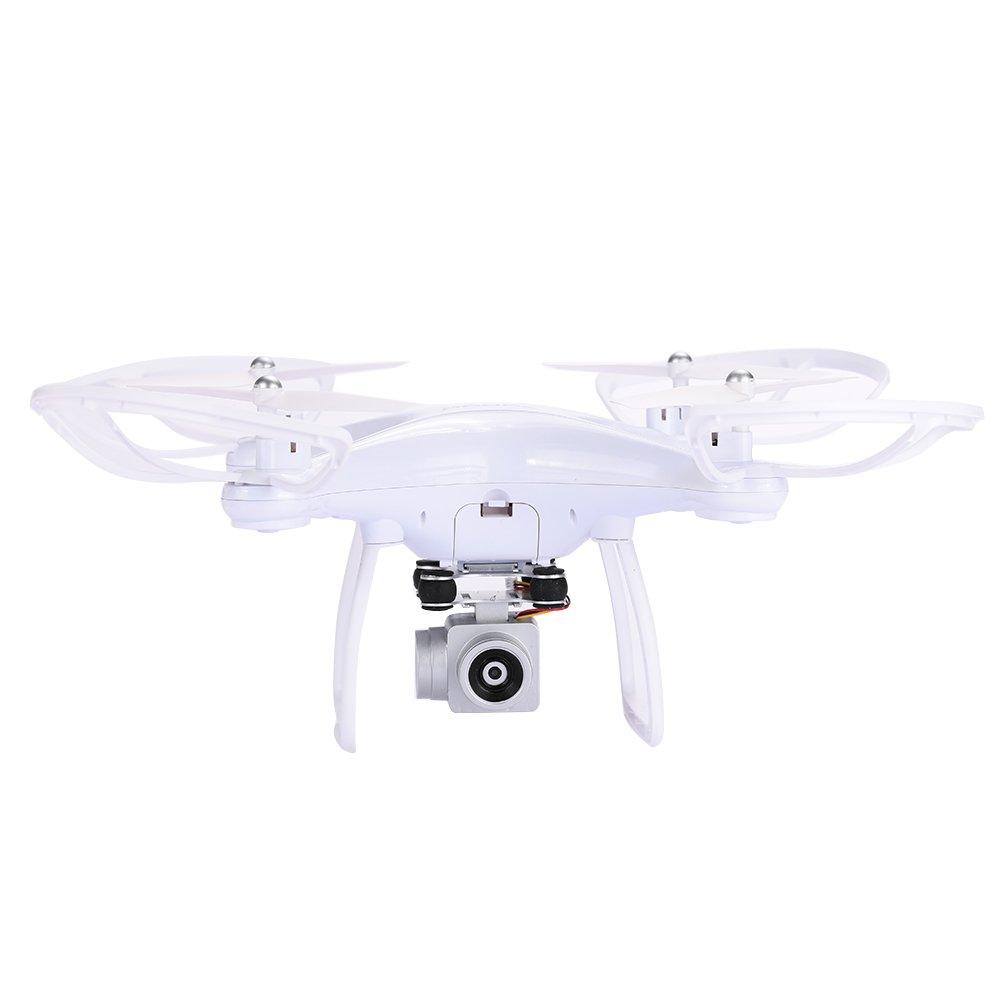 Auntwhale Drone Aircraft High Performance Wifi FPV Echtzeit Geschwindigkeit Einstellbar FPV 6 Achsen Gyro Weiß