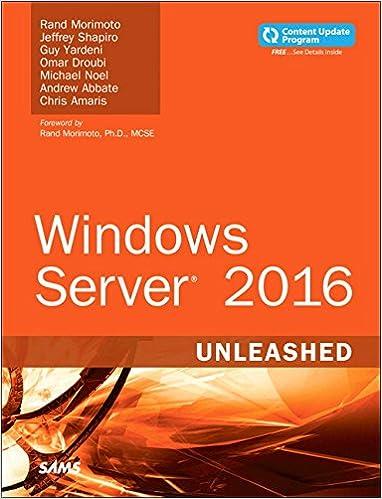 Server 2012 Unleashed Pdf