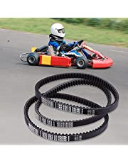 Drive Clutch Belt,Rubber Go Kart Engine Drive Belt for Yerf-Dog Go Karts 203591-Q43203W(Pack of 3)
