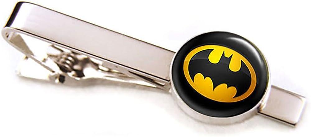 SharedImagination Batman Cufflinks, Batman Jewelry, Batman Cuff Links Link, Justice League Wedding Party Gift, Avengers Groomsmen Gifts