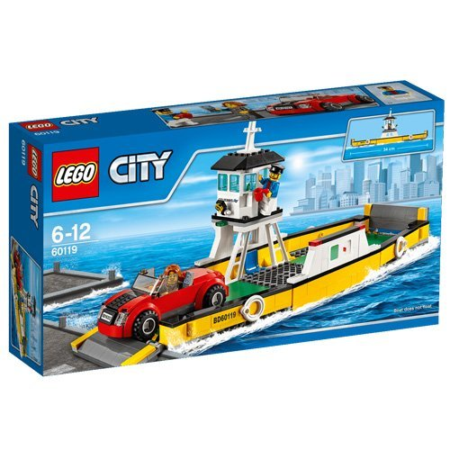 LEGO City Great Vehicles Ferry (60119) Speed Build Video