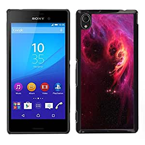 Stuss Case / Funda Carcasa protectora - Descent Of Fiery Darkness - Sony Xperia M4 Aqua