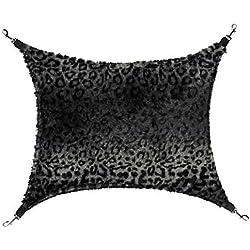 "ThermaPet Cat Cage Hammock, Grey Leopard, 21"" x 12 1/2"""